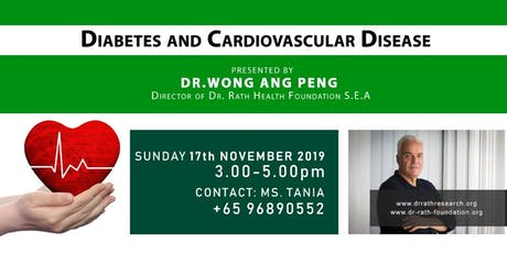 Diabetes & Cardiovascular Disease tickets