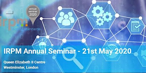 IRPM Annual Seminar 2020