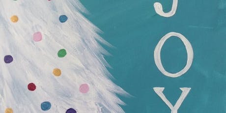 Christmas Paint Party at Chick-fil-A! (JOY tree painting) tickets