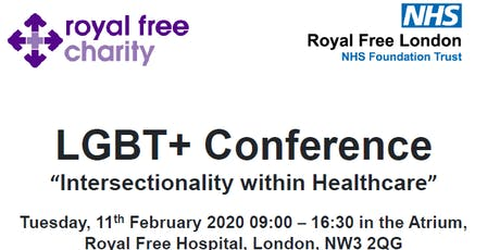 "RFL LGBT+ Conference - ""Intersectionality within Healthcare"" tickets"