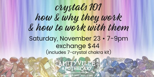 Crystals 101- Why & How They Work and How to Work with Them