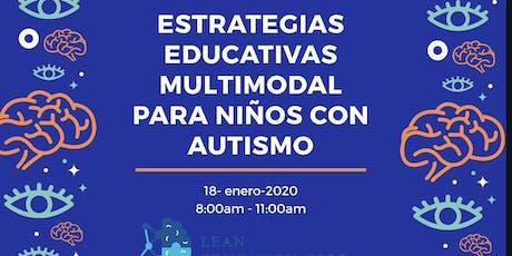 Estrategias  Educativas Multimodal para niños con Autismo entradas