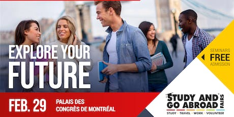 Study and Go Abroad Fair Montreal tickets