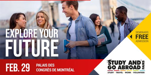 Study and Go Abroad Fair Montreal