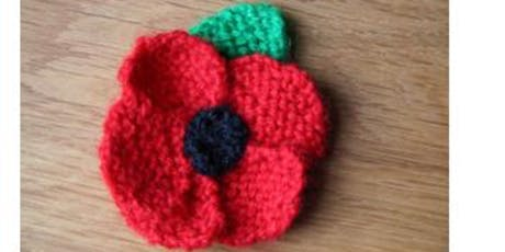 Knitted Poppies to raise funds for The Royal British Legion tickets