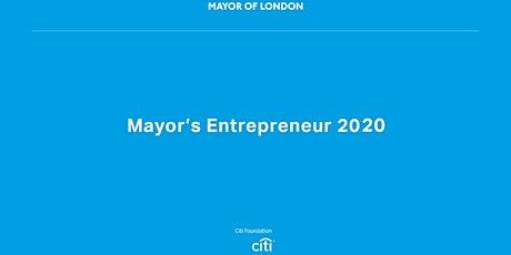 Mayor's Entrepreneur Workshop 3 tickets