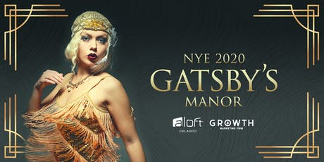 Gatsby's Manor    a themed  NYE 2020 celebration tickets