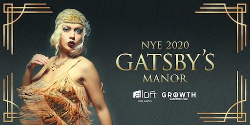 Gatsby's Manor |  a themed  NYE 2020 celebration
