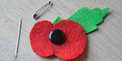 Felt Poppies to raise funds for The Royal British Legion