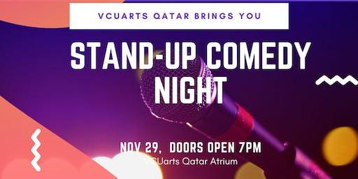 Stand-Up Comedy Night @ VCUarts Qatar | Nov 29 | 7pm