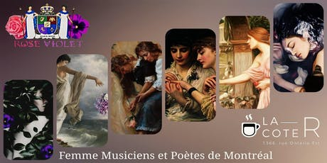 Rose & Violet • Free Montreal Live Music & Poetry Shows tickets