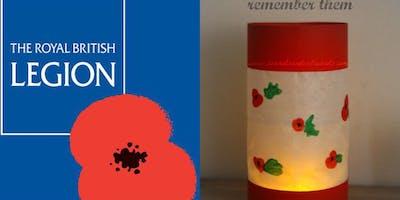 Poppy Lanterns to raise funds for The Royal British Legion