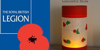 Poppy Lanterns to raise funds for The Royal British Legion