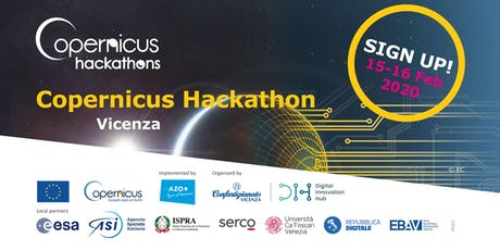 Copernicus Hackathon - The Biggest European Space Economy Hackathon biglietti