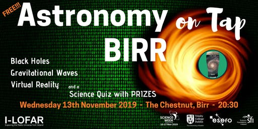 Astronomy on Tap Birr - Science Week!