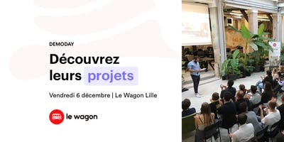 Le Wagon DEMODAY - batch #328 - Lille