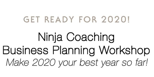 Ninja Selling Business Planning Workshop