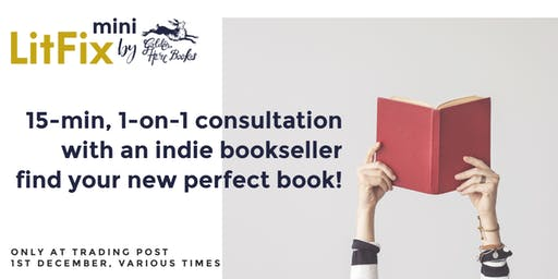 LitFix Mini: Reading Consultation with a Bookseller + Leave with a Book!