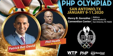 PHP OLYMPIAD WITH PHIL HEATH & PATRICK BET-DAVID! tickets