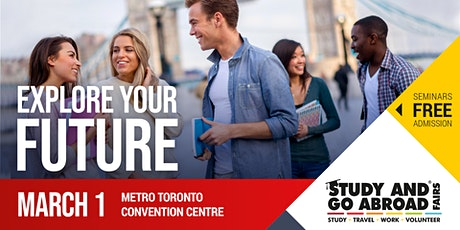 Study and Go Abroad Fair Toronto tickets