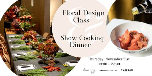 The Art of Floral Design + Private Dinner