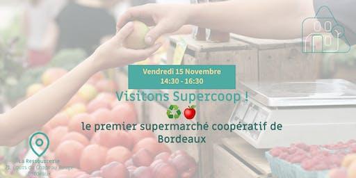 Visitons Supercoop, le premier supermarché coopératif de Bordeaux !