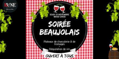 Soirée Beaujolais Nouveau billets