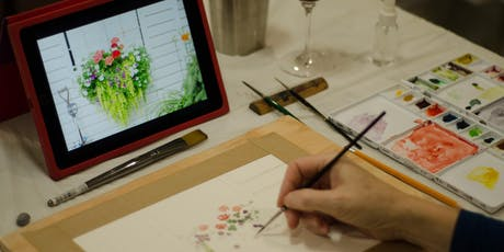 Watercolour & Wine tickets