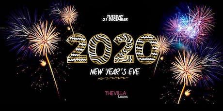 THE VILLA (next to) LEUVEN NYE 2020 tickets