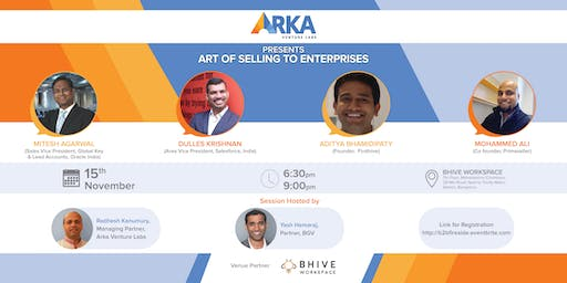 Art of selling to an Enterprise