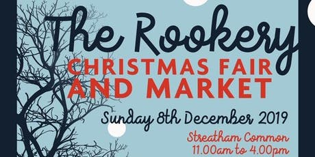 Streatham Rookery Christmas Fair & Market tickets
