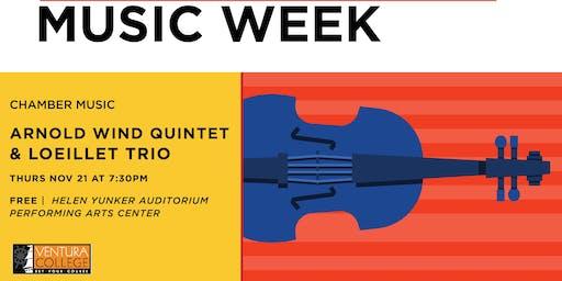 Ventura College Chamber Music Concert: Free Event