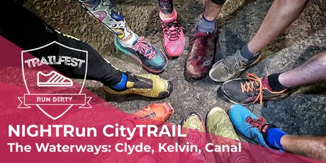 NIGHTRun CityTRAIL: The Waterways: Clyde, Kelvin, Canal tickets