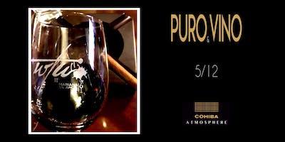 Degustación y maridaje de Vino y Puro
