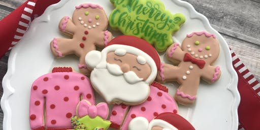 NONTRADITIONAL Christmas Color Cookie Class