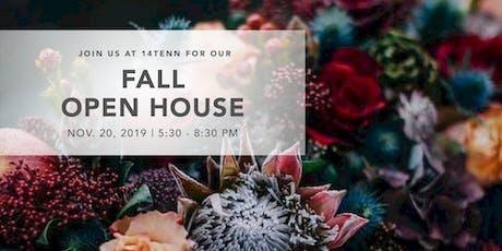14TENN 2019 Fall Open House tickets