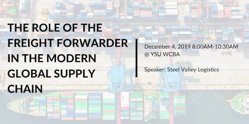 The Role of the Freight Forwarder in the Modern Global Supply Chain