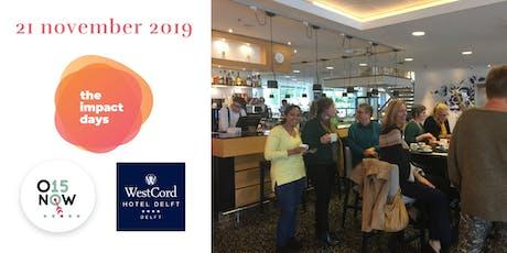Impact Days - Kijkje achter de schermen bij WestCord Hotel Delft en 015NOW tickets