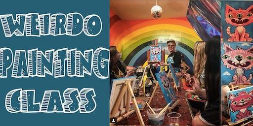 Weirdo Painting Class