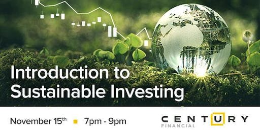 Free Seminar:Introduction to Sustainable Investing