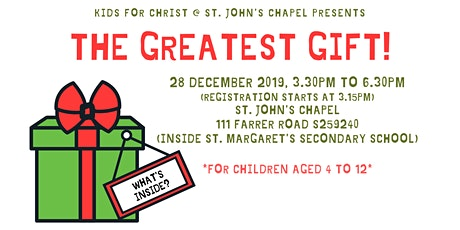 The Greatest Gift! tickets