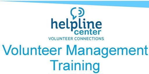 Brookings Volunteer Management Training 2020