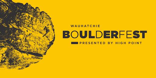 2019 Wauhatchie BoulderFest Saturday, December 7, 2019 Chattanooga, TN