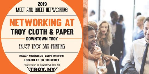 Meet & Greet | Enjoy Troy Bag Printing at Troy Cloth & Paper