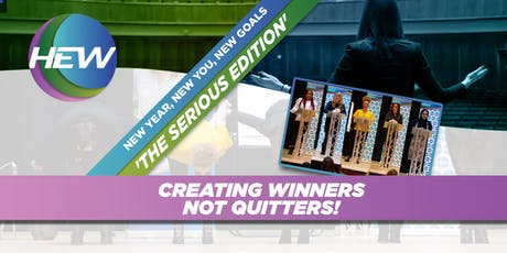 New Year, New You, New Goals. 'The SERIOUS Edition' tickets