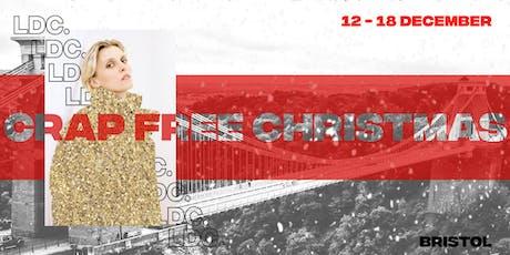 Crap Free Christmas: Lone Design Club's Festive Concept Store BRISTOL tickets