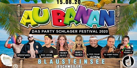 AU BANAN - Das Party Schlager Festival 2020 tickets