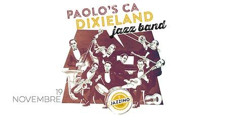 Paolo's CA Dixieland Jazz Band - Live at Jazzino biglietti