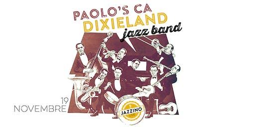 Paolo's CA Dixieland Jazz Band - Live at Jazzino