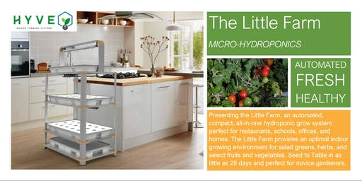 The Little Farm to Table Event! Hydroponics for Schools and Restaurants